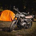 """バイク・ツーリング:キャンプで使う""""コンロ""""は2つ持ちがベスト!""""焚き火台グリル""""と""""ワンバーナー""""をセットで"""
